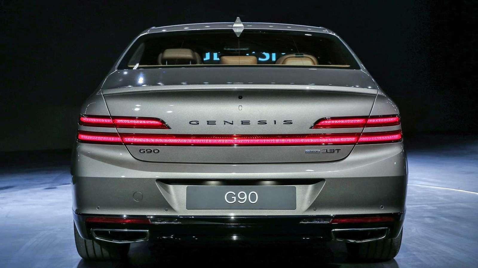Genesis показал обновленный флагманский седан G90— фото 926558
