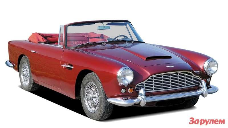 1961. Aston Martin DB4 Vantage Convertible