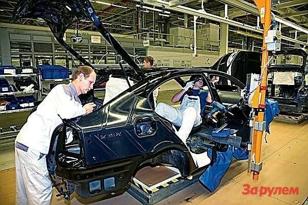 В 2010г. VWпланирует собрать вКалуге 90тыс. машин.