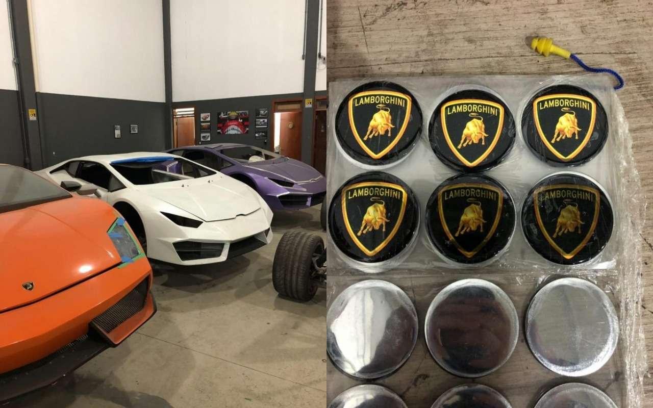Анекдот недели: пойманы производители фальшивых Ferrari иLamborghini— фото 986456