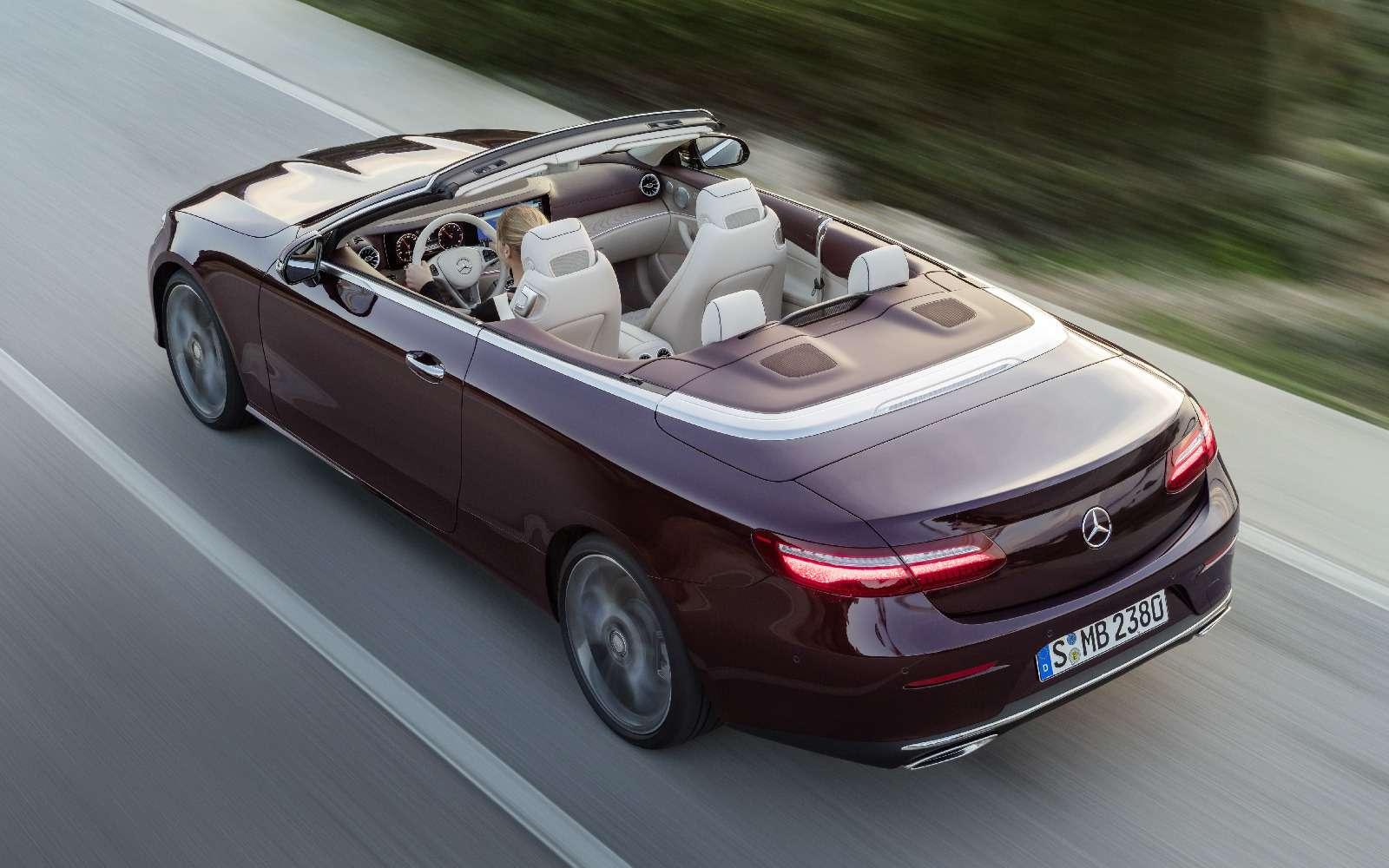 Новый кабриолет Mercedes-Benz E-класса оснастили полным приводом— фото 715163