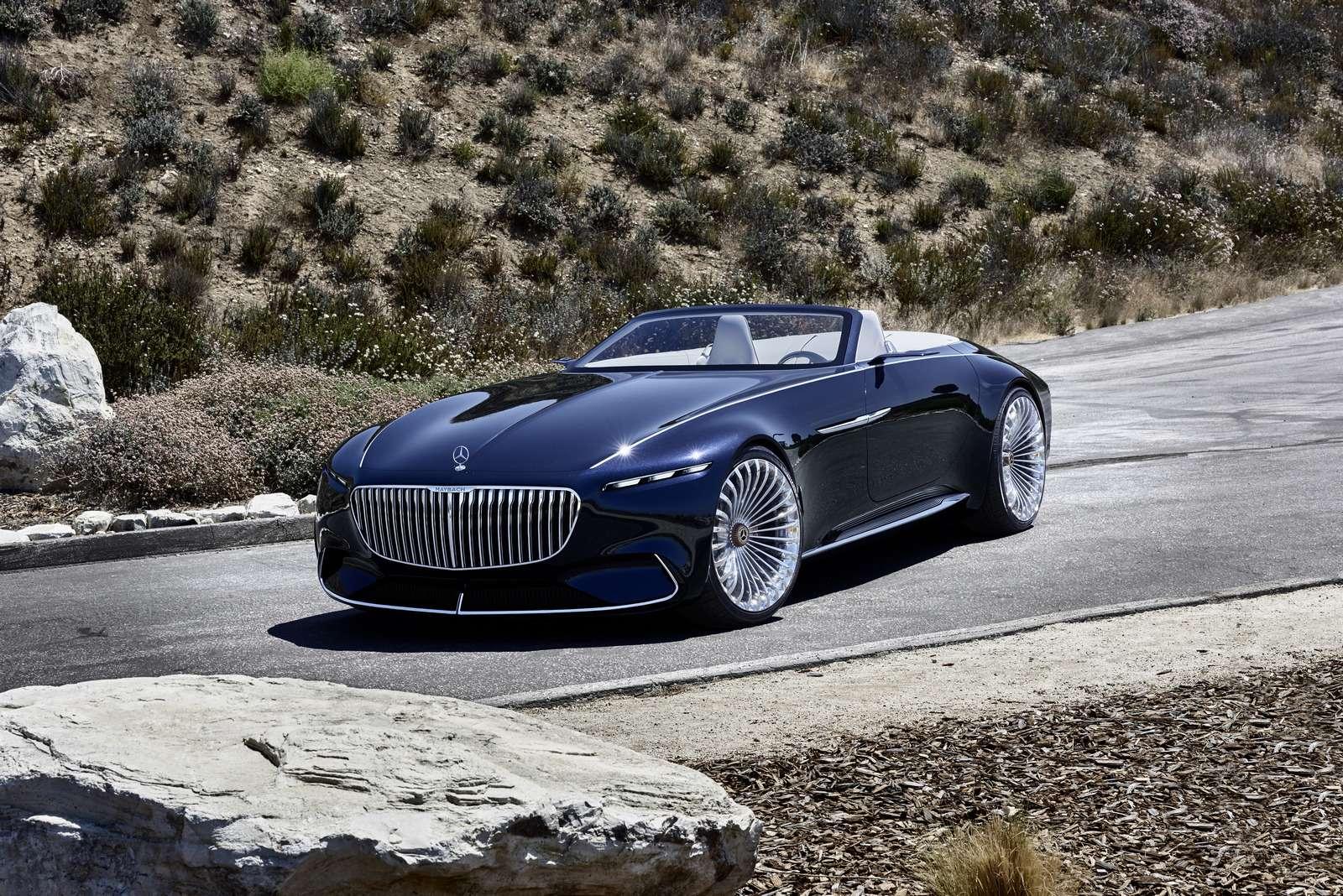 Пикник подкапотом: представлен кабриолет Mercedes-Maybach Vision 6— фото 786174