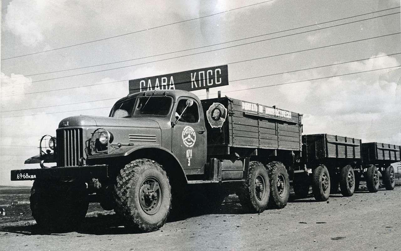 Мотор V12с автоматом— были итакие грузовики вСССР!— фото 1033954