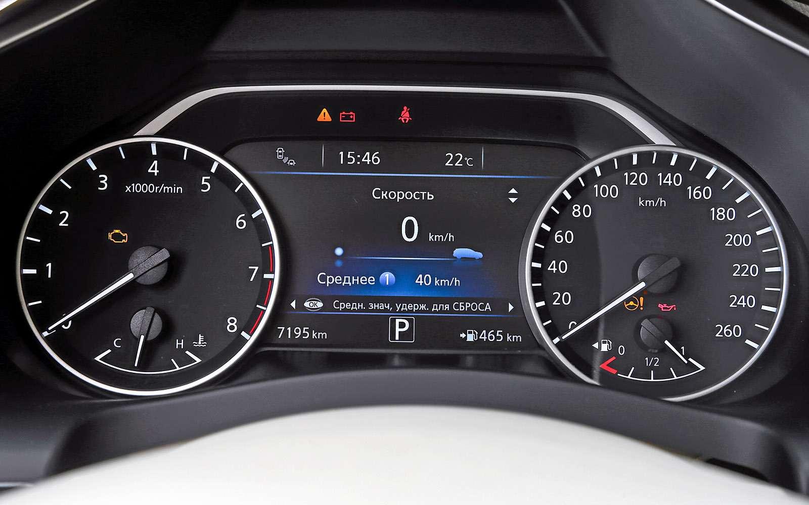 Новый Nissan Murano против конкурентов: длинные рубли— фото 691678