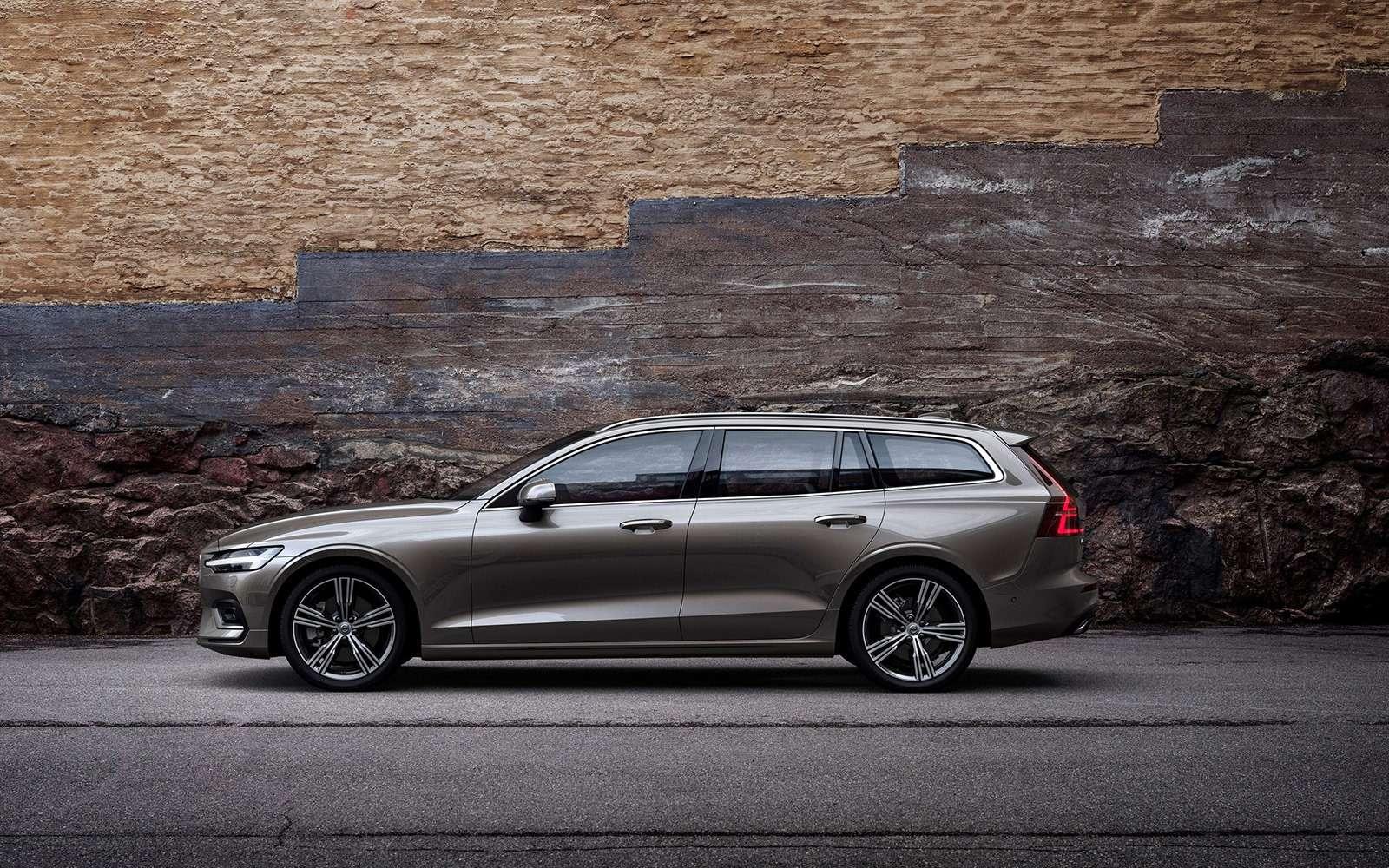 Volvo представила V60: семейный, роскошный ине длянас— фото 847559