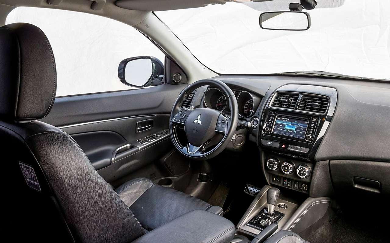 Большой тест кроссоверов: Nissan Qashqai, Mitsubishi ASX иSuzuki SX4— фото 978169