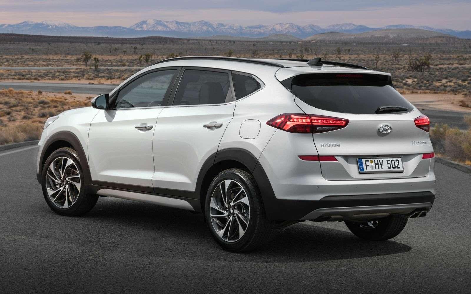 Hyundai Tucson пережил обновление. Итам сплошная «косметика»— фото 857934
