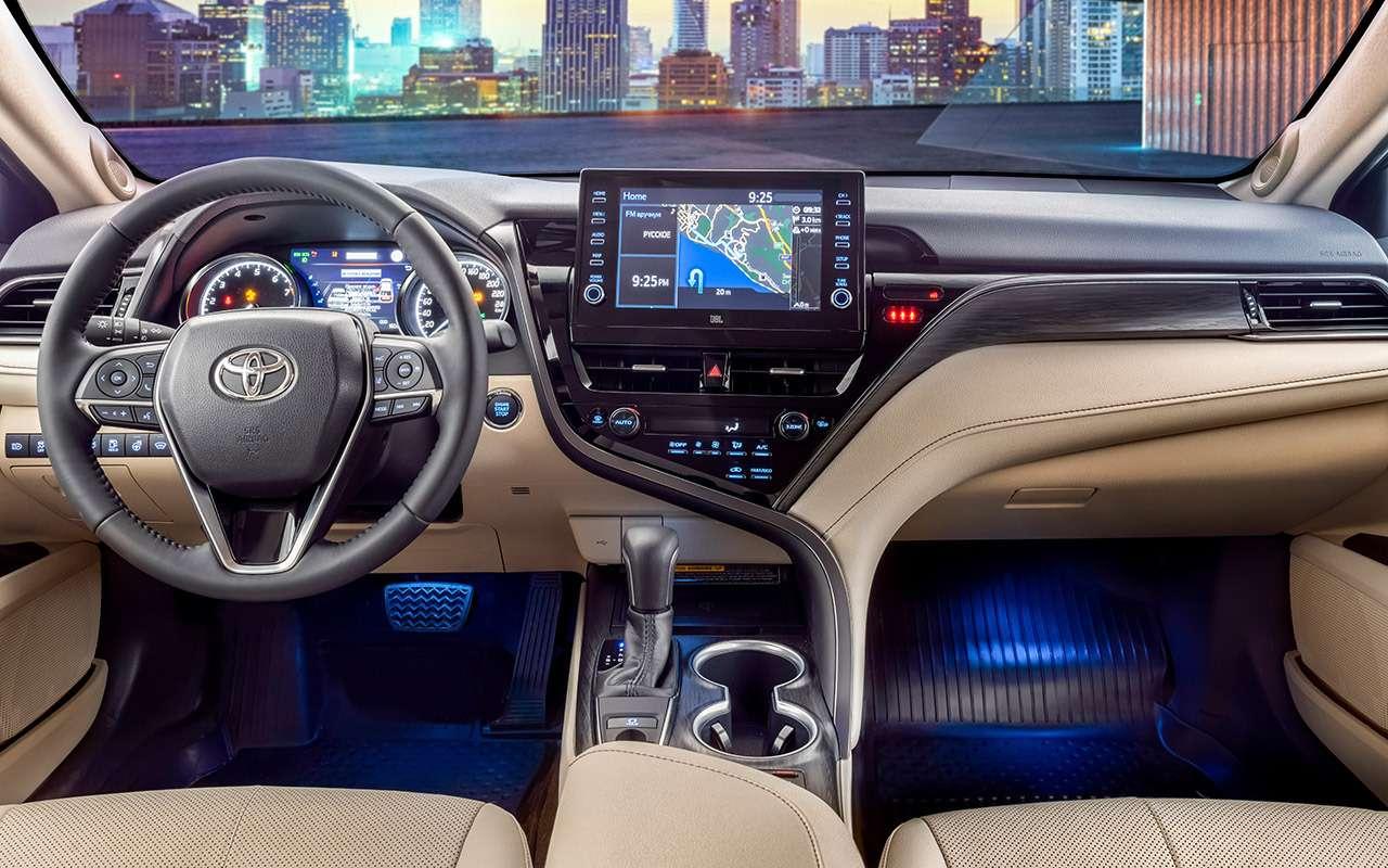 Toyota Camry 2021: все ее изменения - фото 1252873