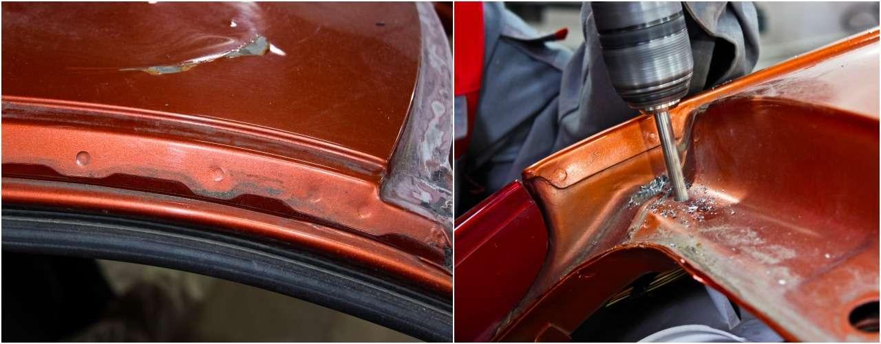 Бюджетный кузовной ремонт, или Как мывосстанавливали Калину после переворота— фото 901687