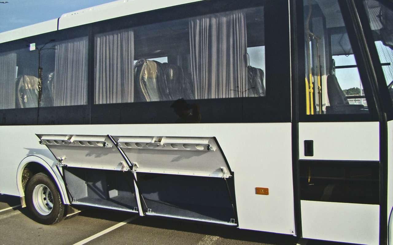 Небольшой автобус Неман 4202— опыт эксплуатации— фото 1278216