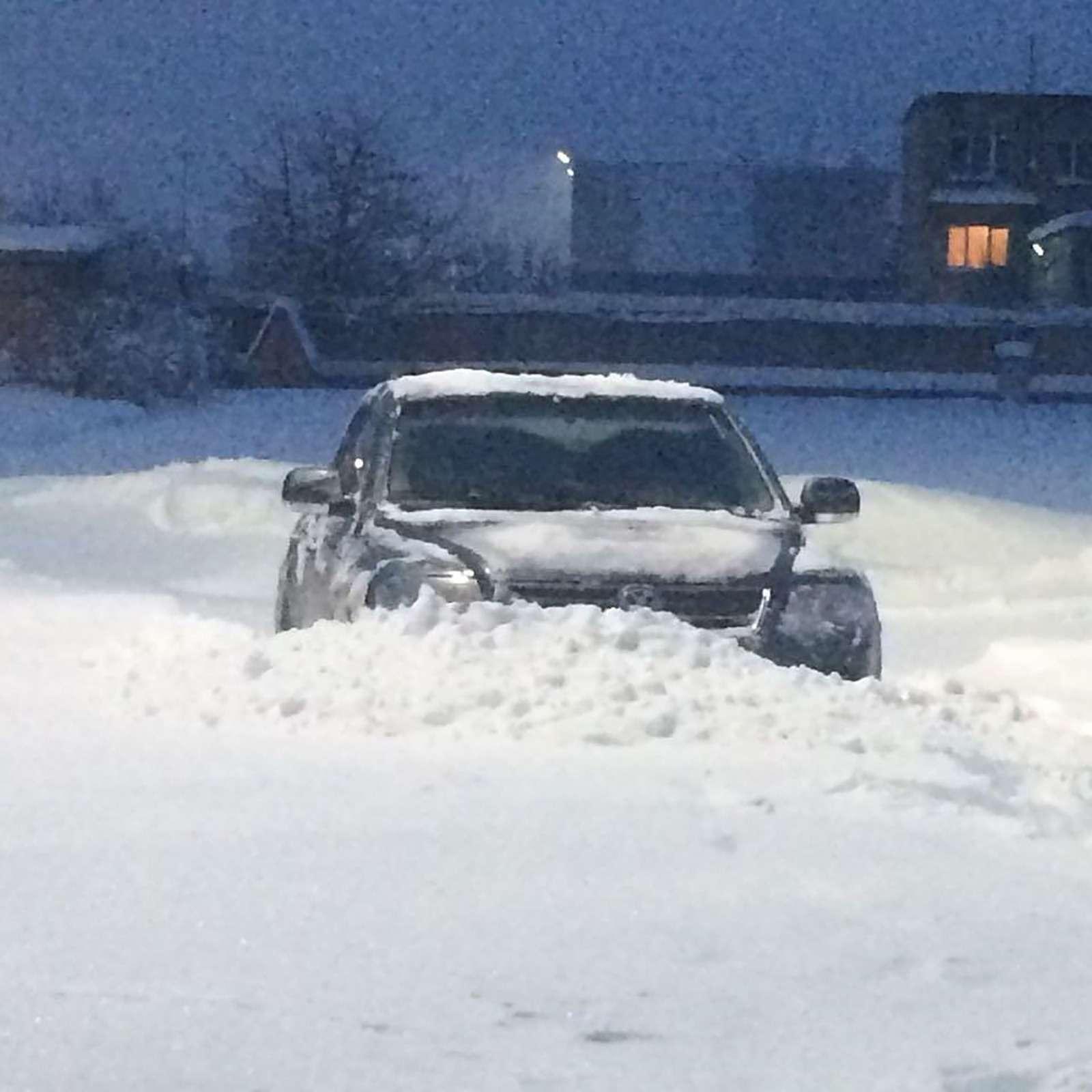 «Снегопад века»: как вМоскве пережили первый катаклизм года— фото 842112
