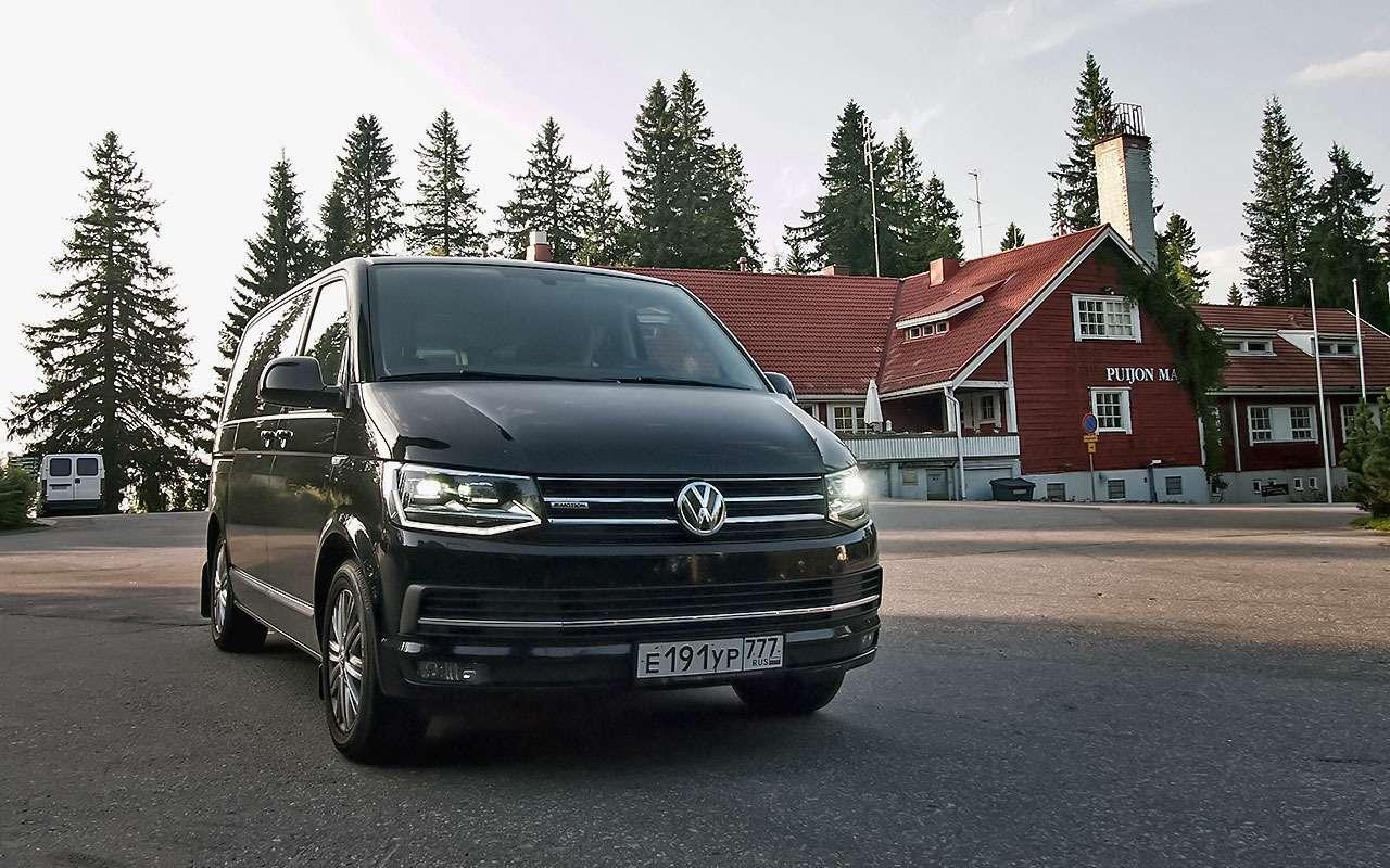 Отпуск зарулем— наминивэне Volkswagen Multivan вФинляндию— фото 791107