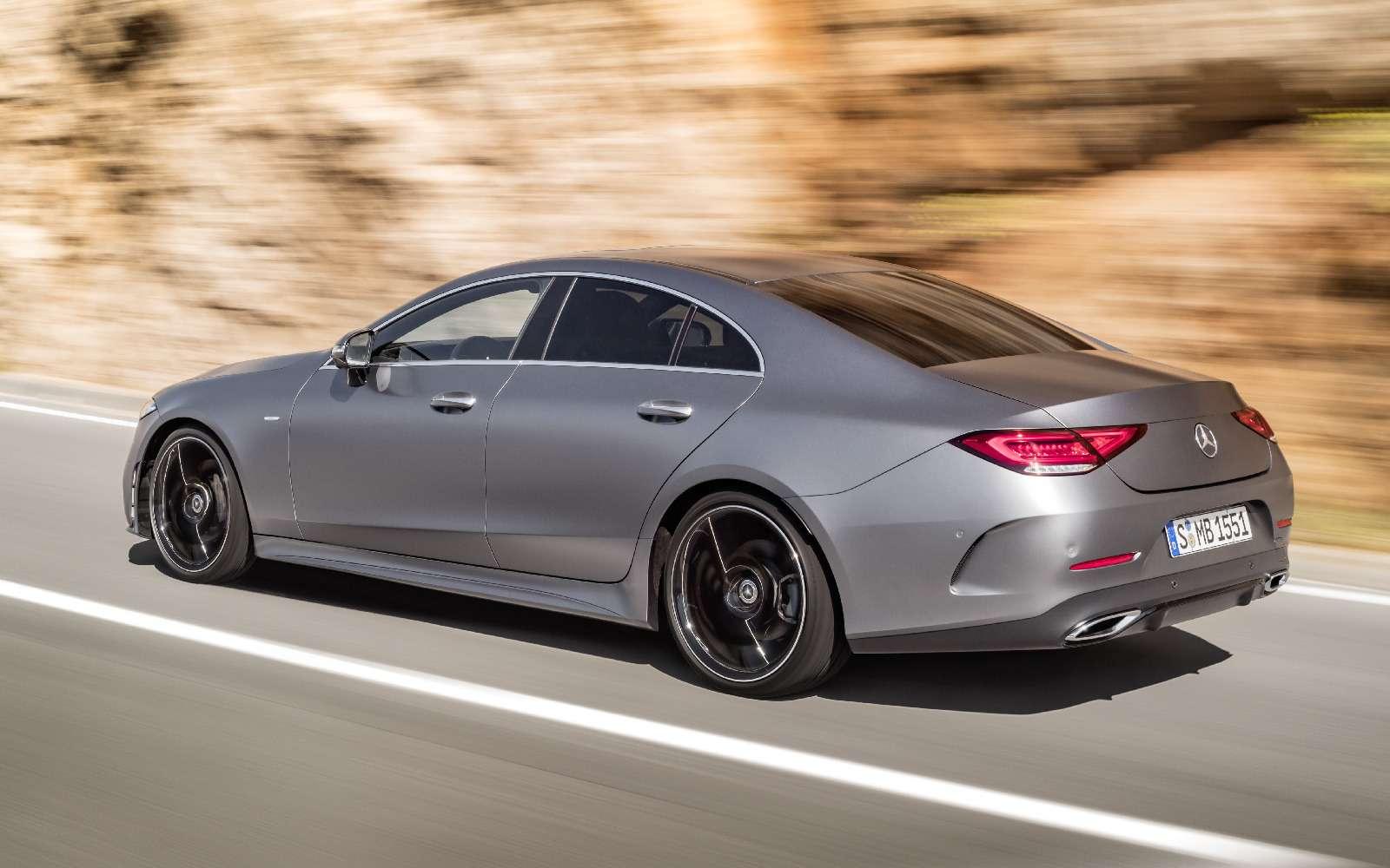 Новый Mercedes-Benz CLS: еще больше чувственности— фото 822041