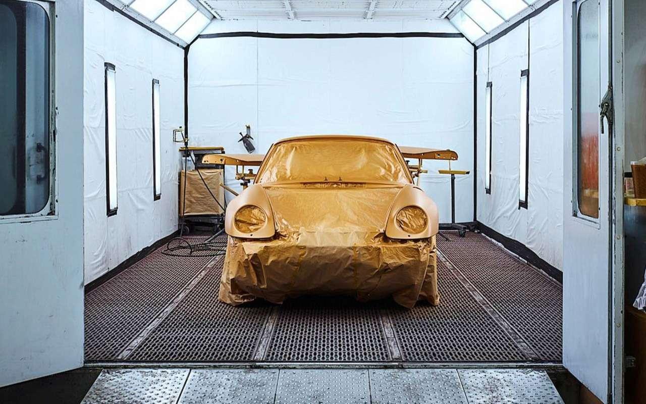 Уникальный Porsche 911 Project Gold: его продали нааукционе за10минут!— фото 918870