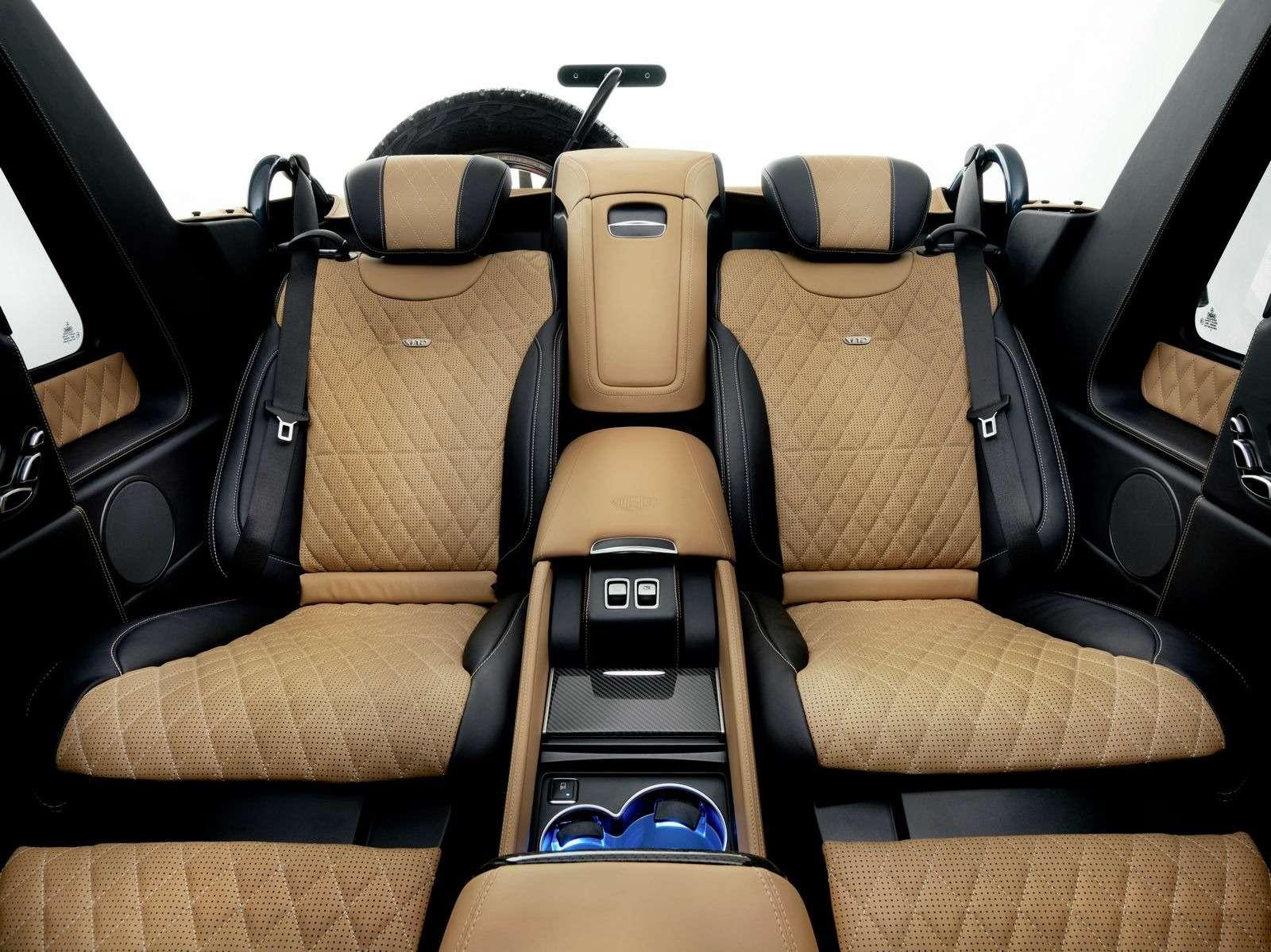 Mercedes-Maybach представил люксовый кабриолет G-класса— фото 706744