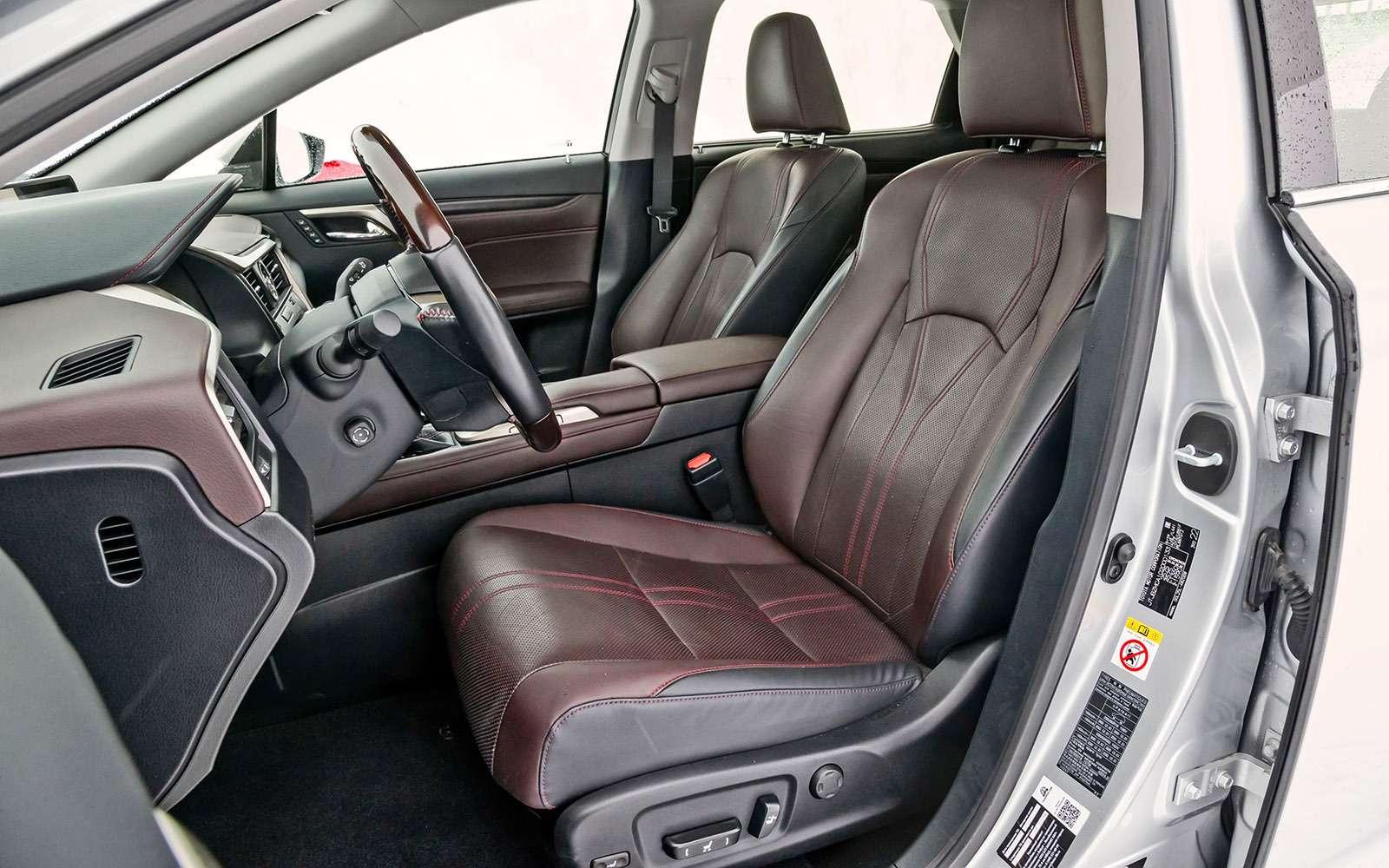 Тест премиум-кроссоверов: Lexus RX350, Cadillac XT5и Jaguar F-Pace— фото 721783