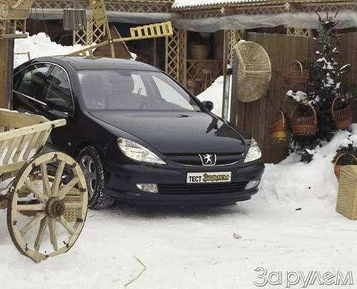 Peugeot 607. ВЫЗОВ ЗАУРЯДНОСТИ— фото 23625