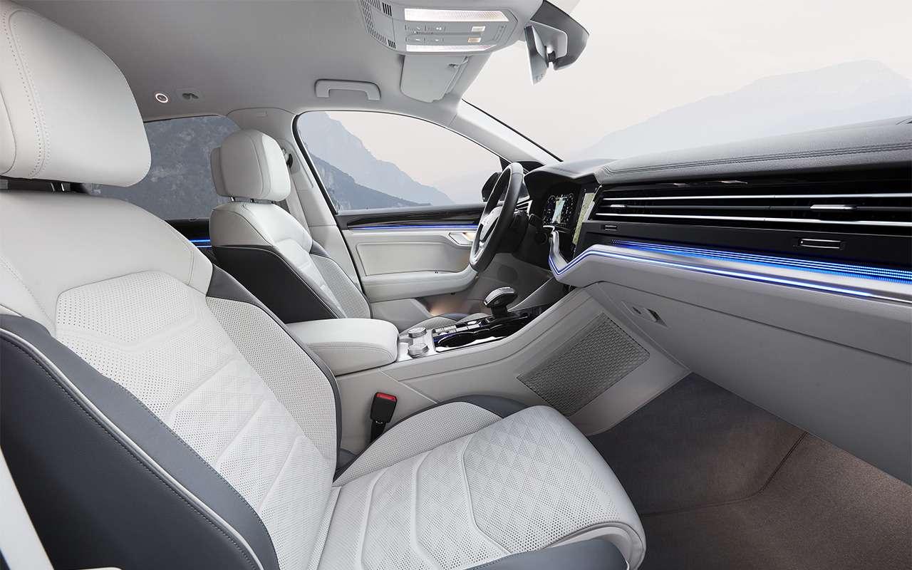 Тест-драйв нового Volkswagen Touareg: хочется большего— фото 871638