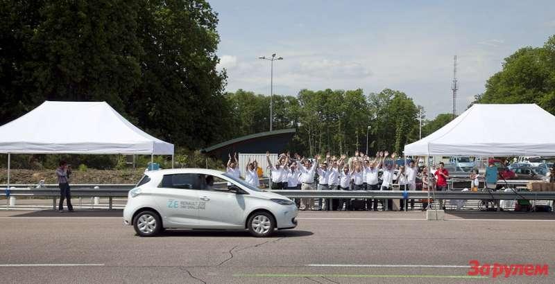 Renault ZOE 24h Challenge—2417