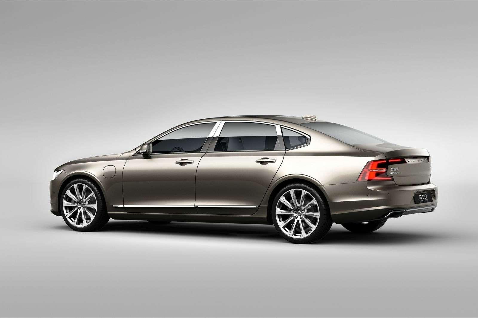 Пассажир, навыход: «китайский» Volvo S90 обойдется без переднего кресла— фото 657778