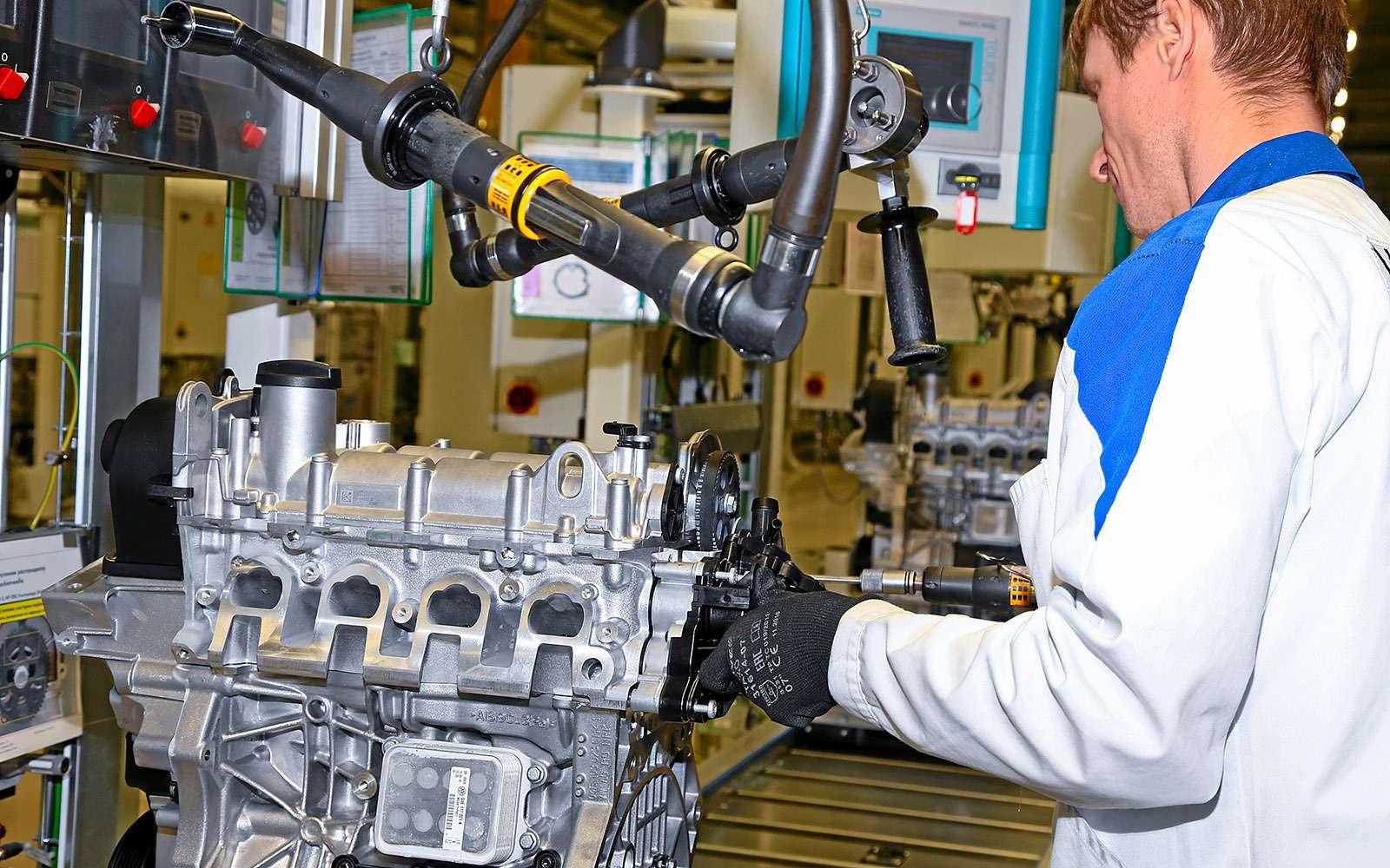 Мотор Volkswagen ЕА2111.6MPI: сорваться сцепи ипойти подраспил— фото 703531