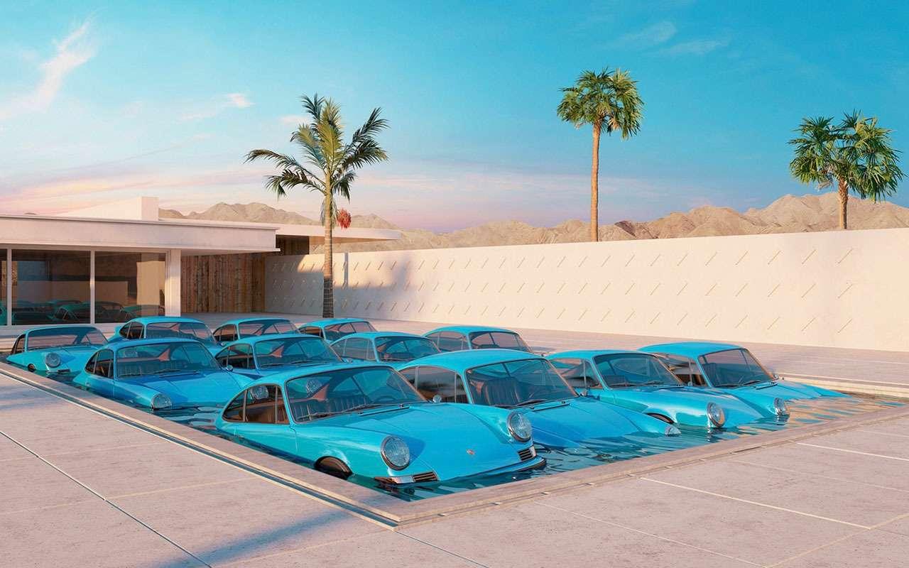 Странно иневероятно: сюрреалистичный мир Porsche— фото 1210058