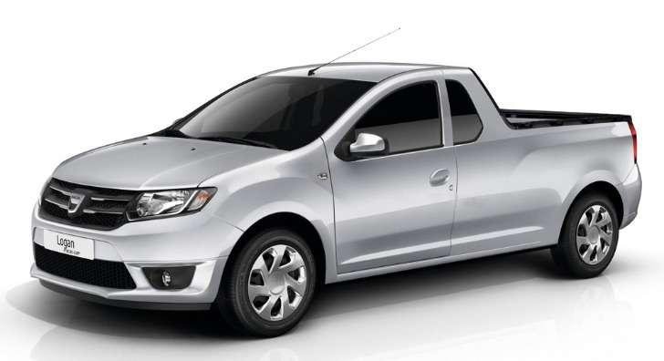 Dacia Logan Pick-up rendering side-front view_no_copyright
