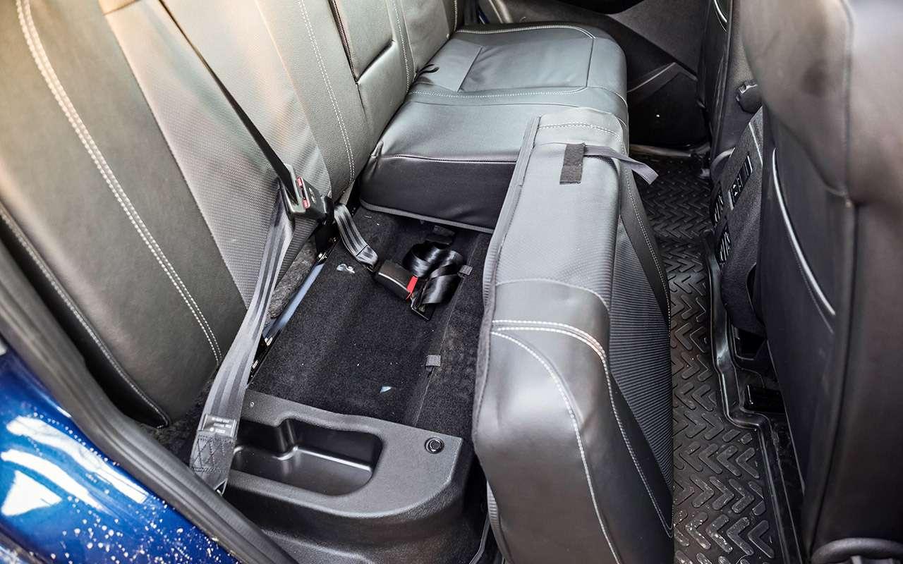 Тест обновленного УАЗа Пикап: мотор новый, косяки старые— фото 918436
