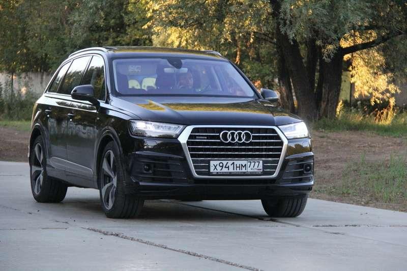 Audi Q7: ипредставительный, исемьянин