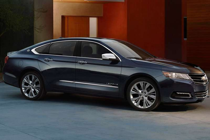 Chevrolet Impala side-front view_no_copyright