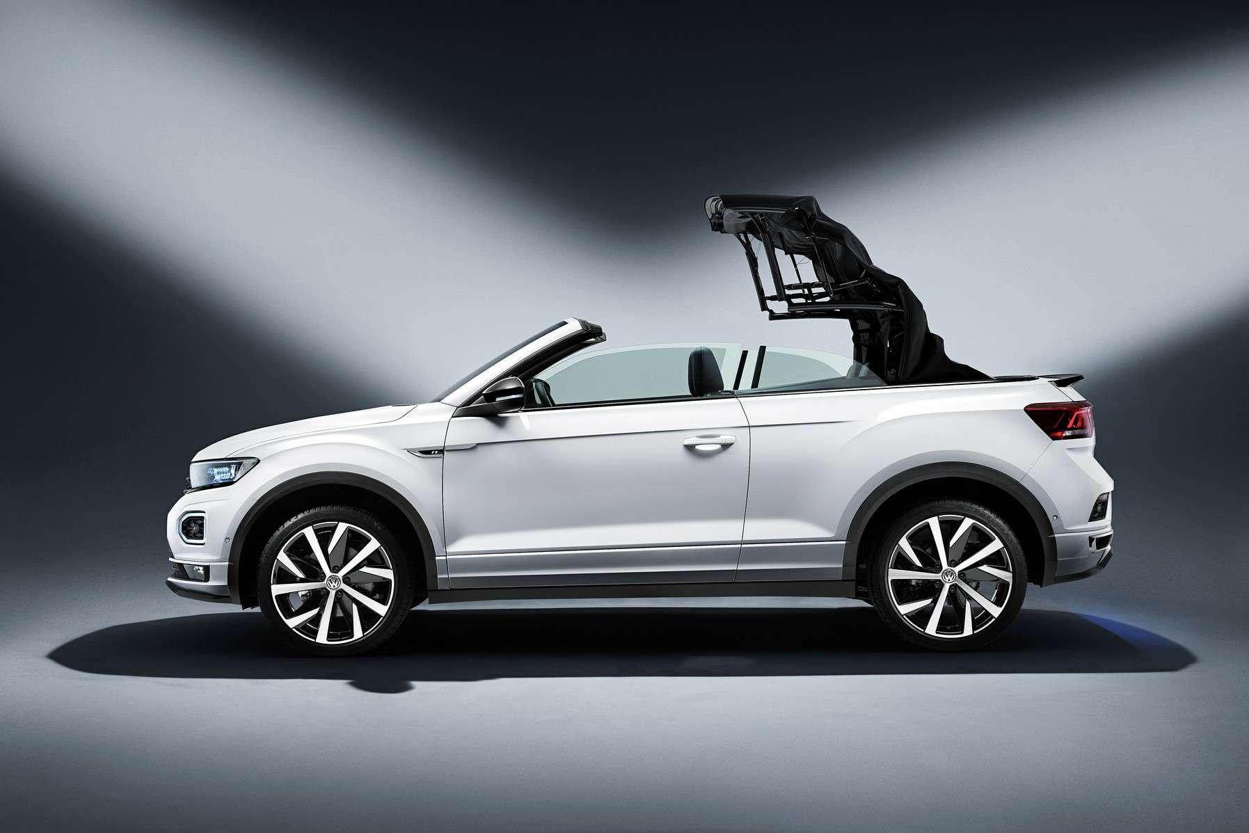 Volkswagen выпустил новый кабриолет. Набазе кроссовера— фото 993000