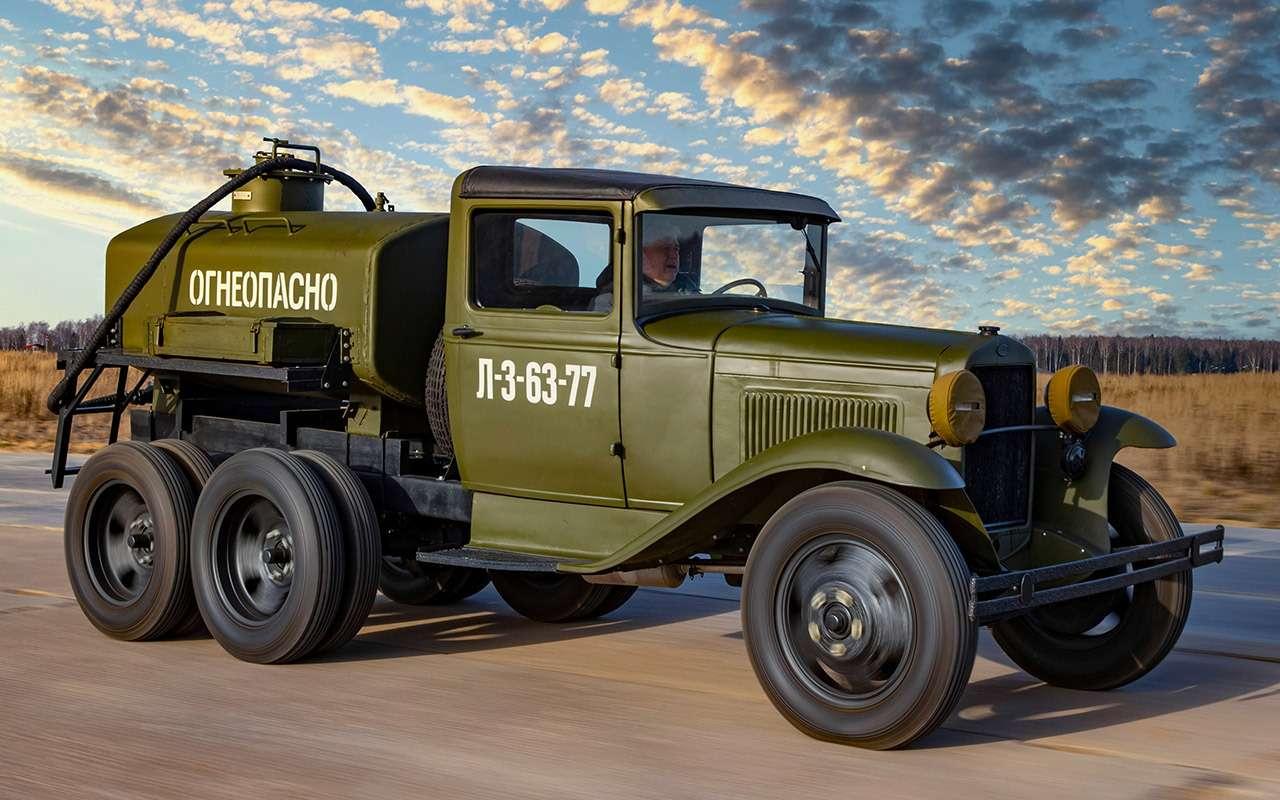 Машины Победы: ретротест настоящих фронтовых грузовиков— фото 1121599
