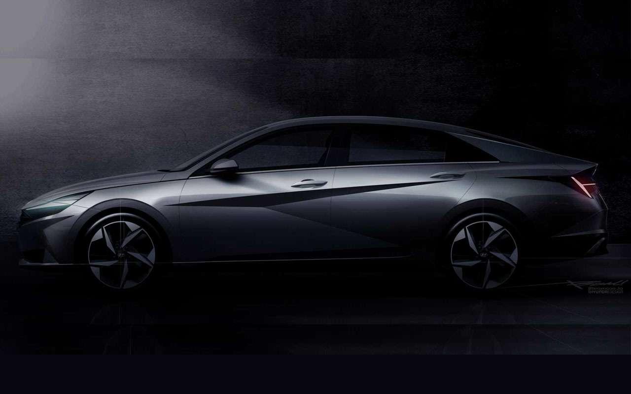 Первое видео нового Hyundai Elantra: минимализм играни— фото 1091239