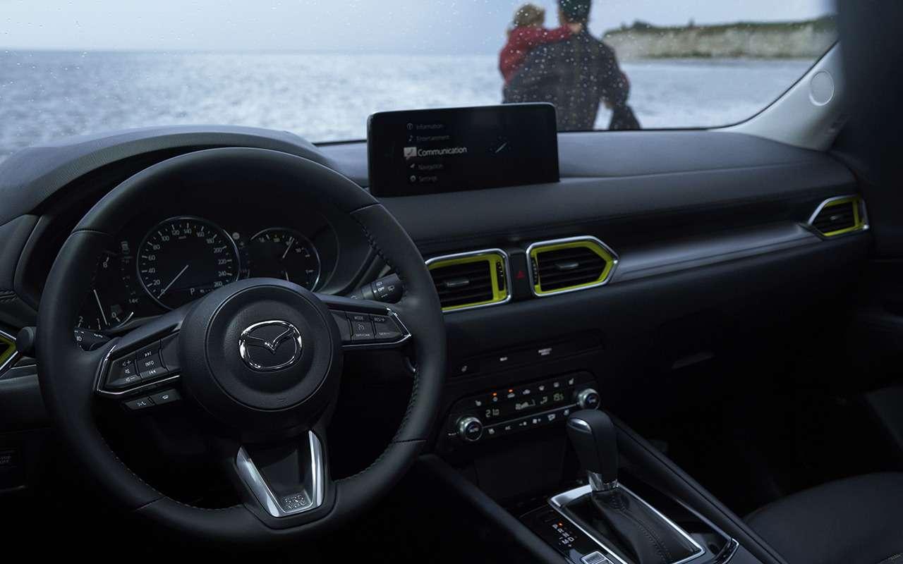 Mazda показала обновленный кроссовер CX-5— фото 1277849