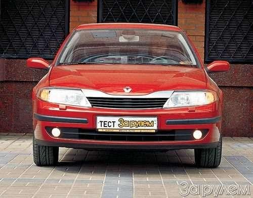 Тест Nissan Primera, Renault Laguna. Пробы нафотогеничность.— фото 29420
