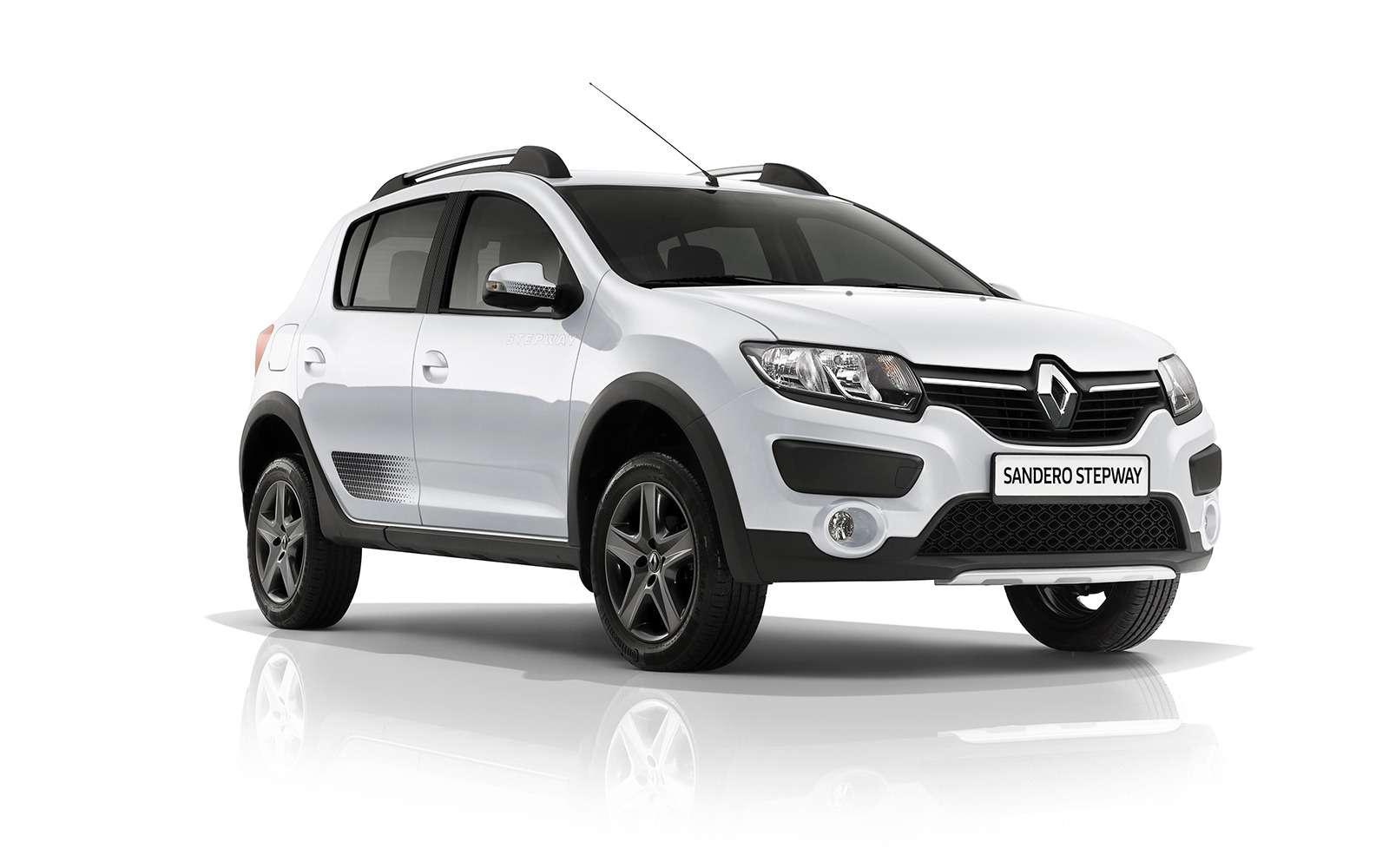 Renault Sandero Stepway получил вРоссии спецверсию— фото 796425
