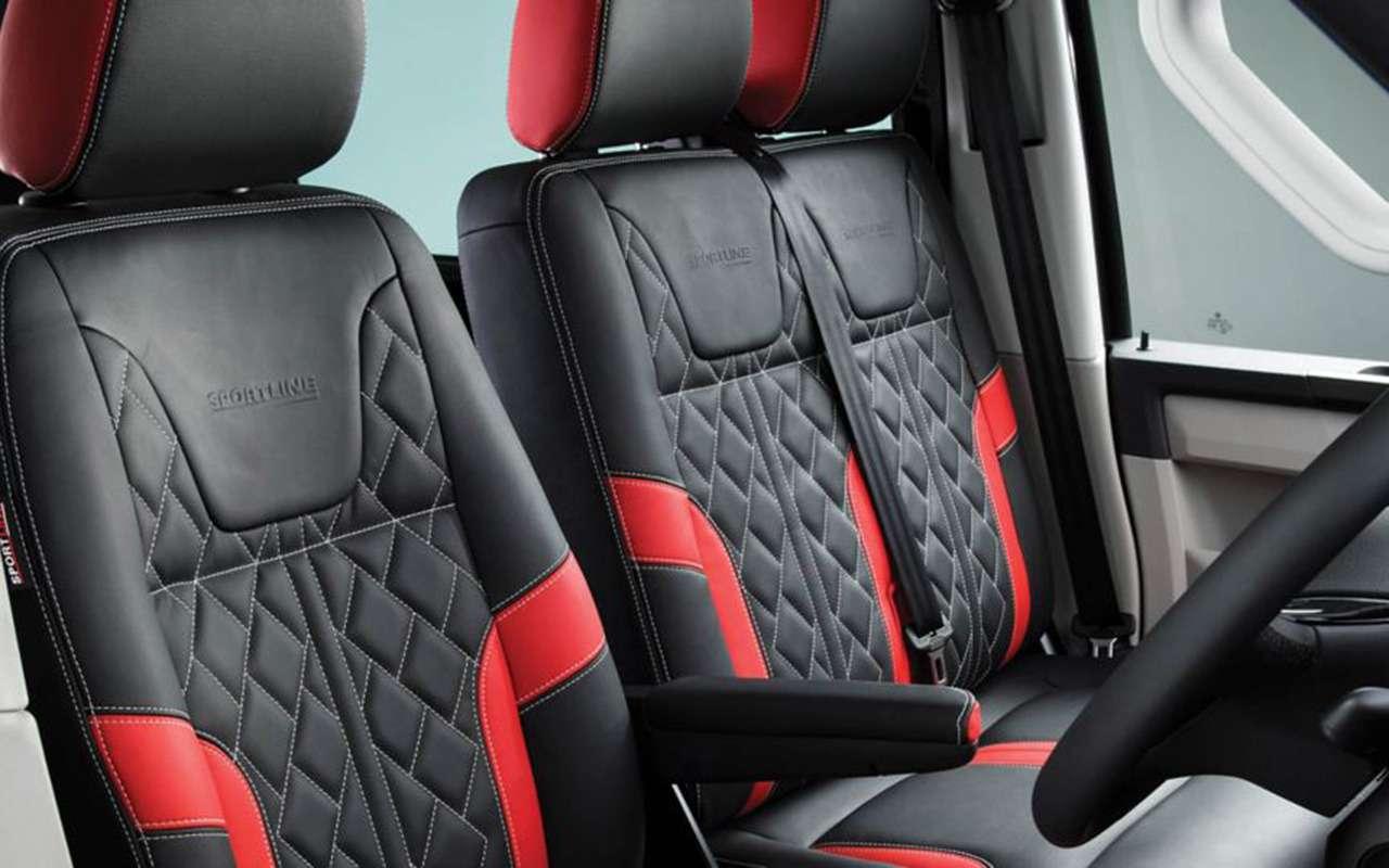 VWсделал «спортивный» иочень «спортивный» фургон— фото 1232323