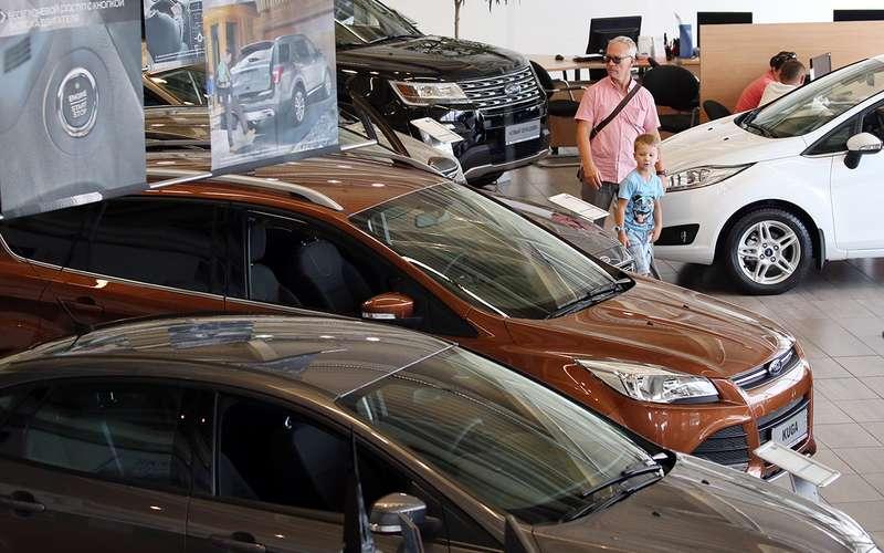 Заполгода в Российской Федерации уменьшилось число автодилерских центров
