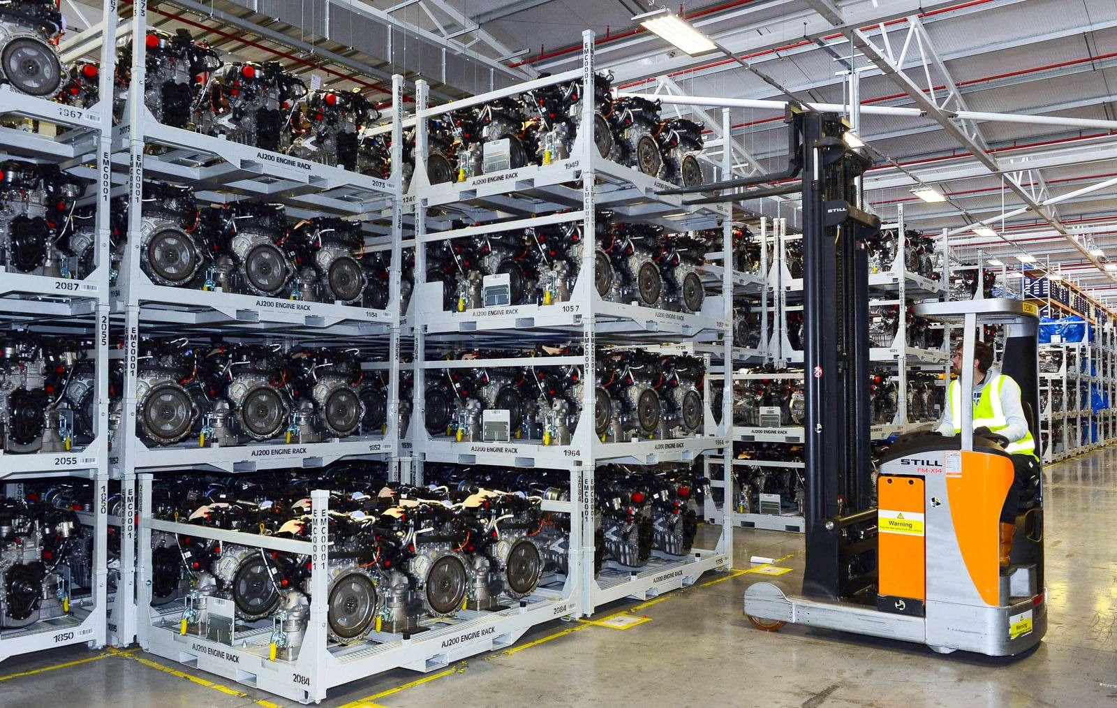 Завод двигателей Jaguar Land Rover: сто гениев вчас— фото 589034