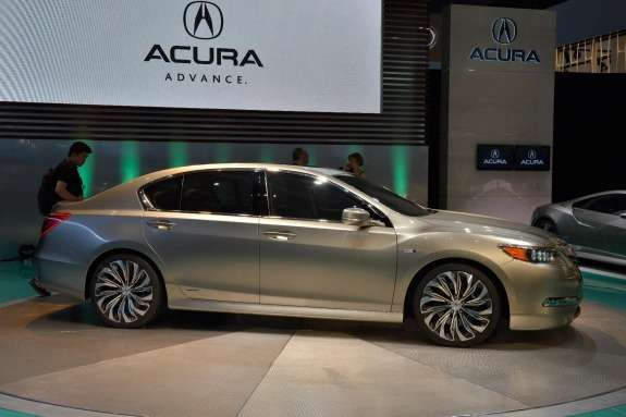 Acura RLX Concept side view