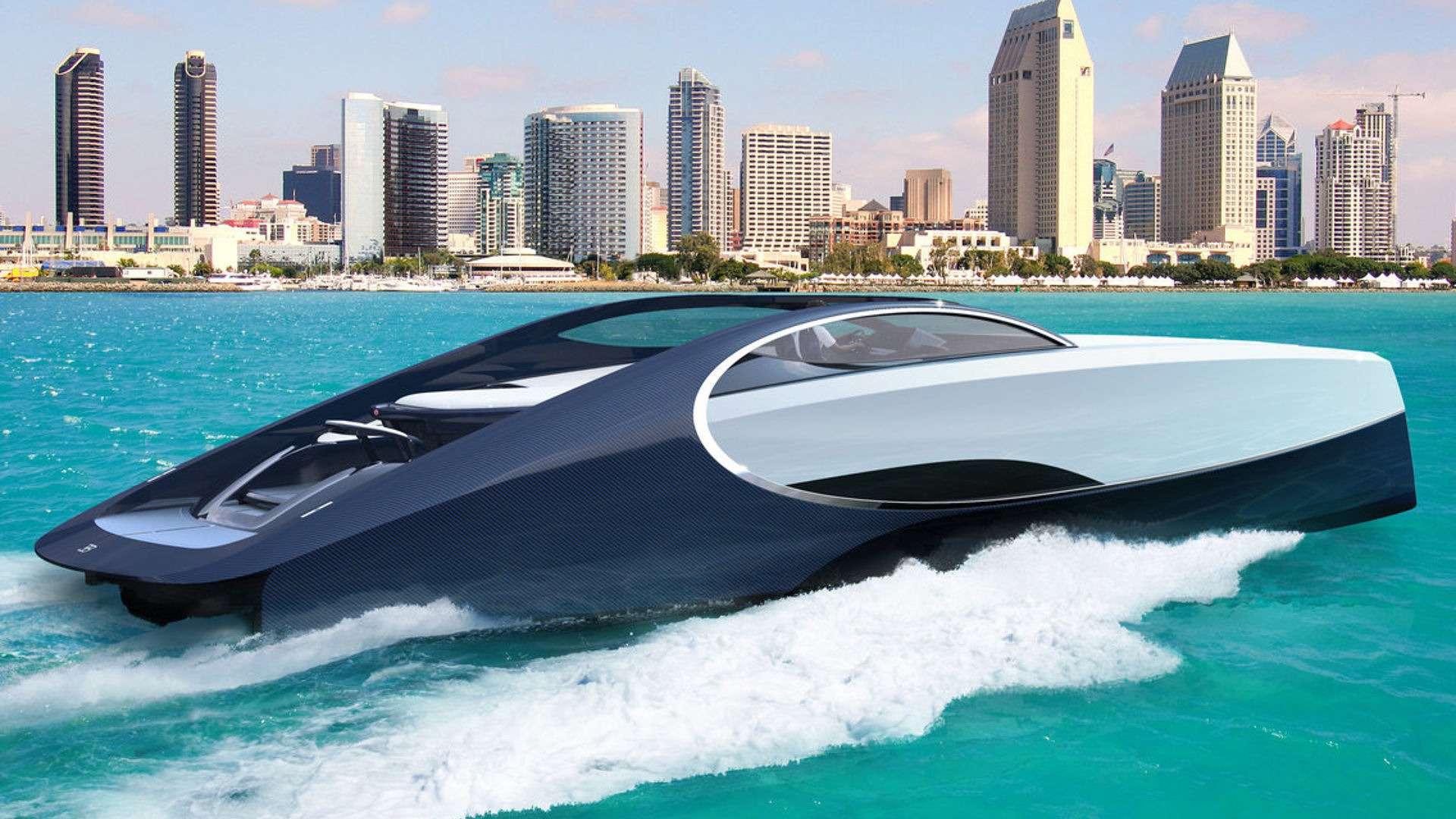 Наволне Широна: подмаркой Bugatti теперь можно купить яхту— фото 720155