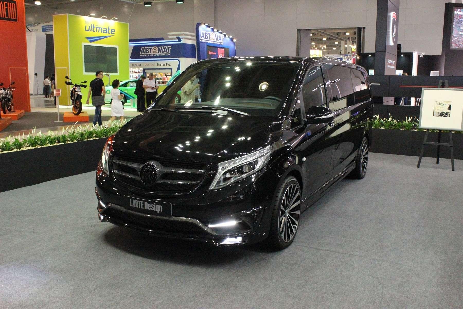 Черные кристаллы: Mercedes-Benz стемной стороны— фото 624519