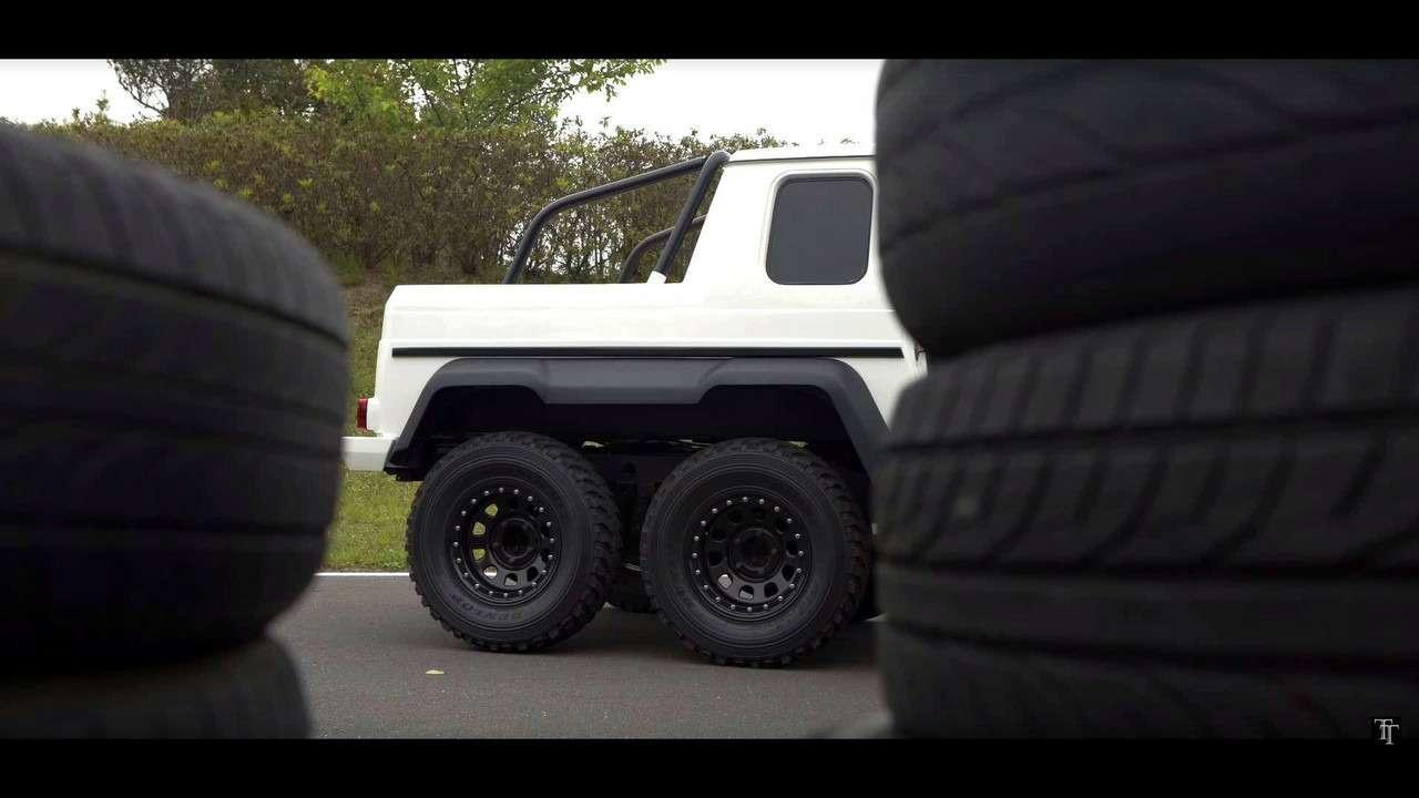 Неверь своим глазам— Suzuki Jimny превратился вMercedes-Benz G-класса— фото 769733