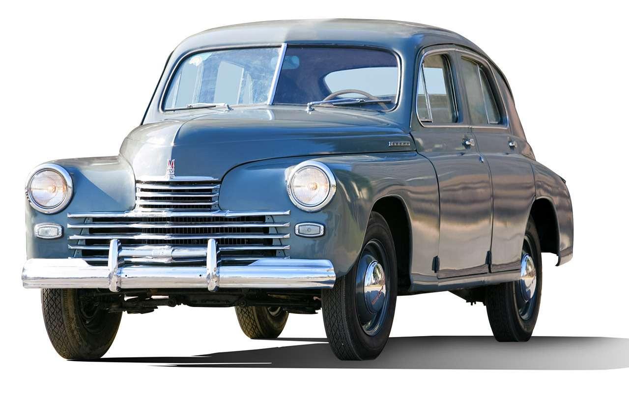 Победа ГАЗ-М20— чья копия?— фото 853586