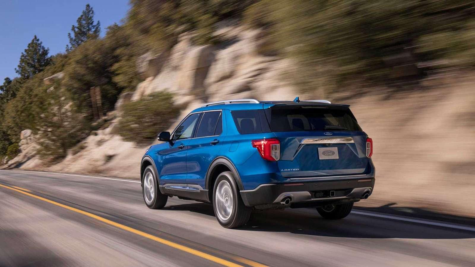 Новый Ford Explorer: разбираем его вдеталях— фото 939732