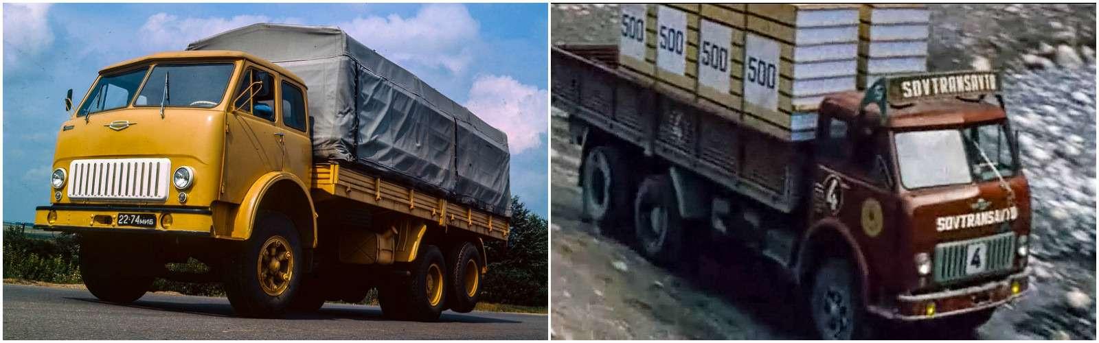 МАЗ-514, Мировой парень, 1971г., режиссер Юрий Дубровин.