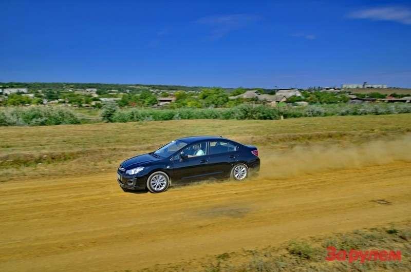 Subaru Impreza sedan 2012_12