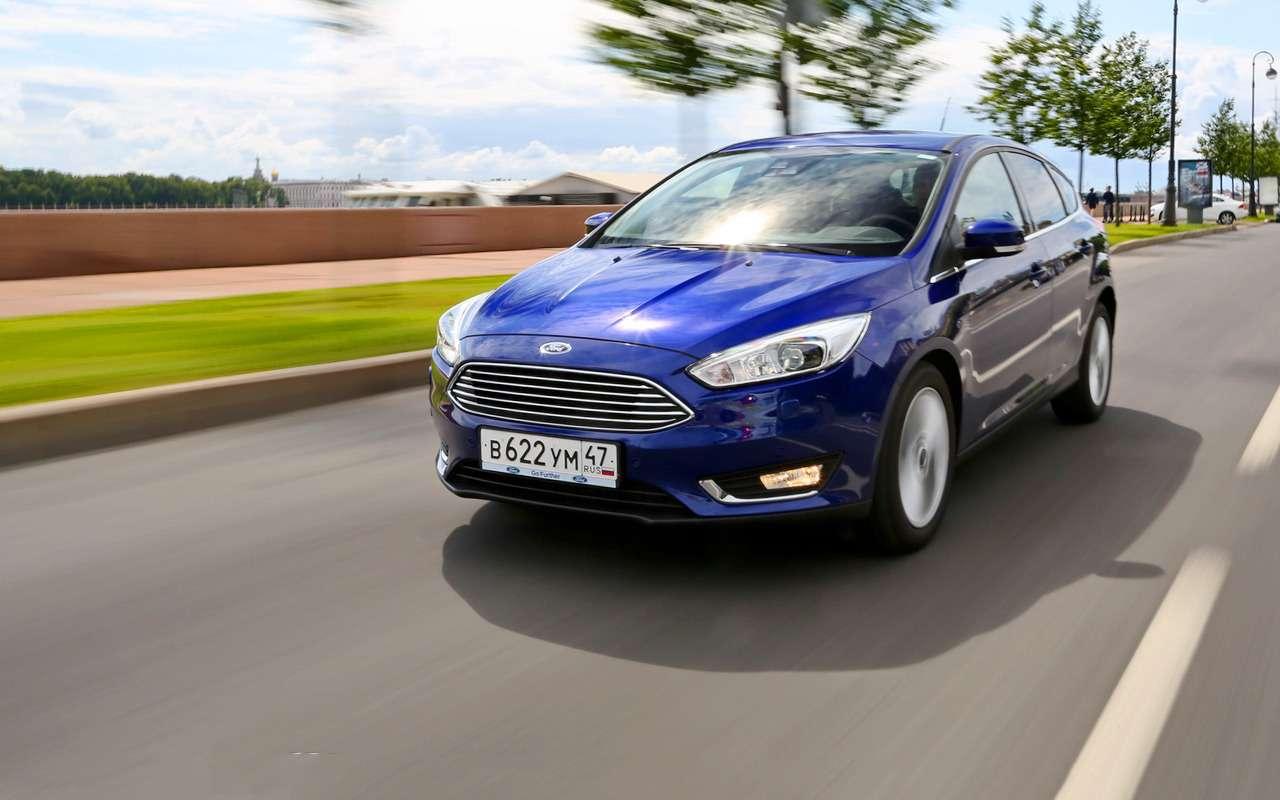 5 плюсов идве спорные особенности Ford Focus— фото 887465
