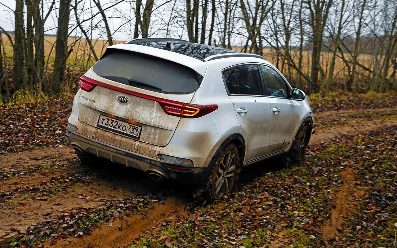 Новый Subaru Forester против конкурентов: большой тест кроссоверов— фото 935677