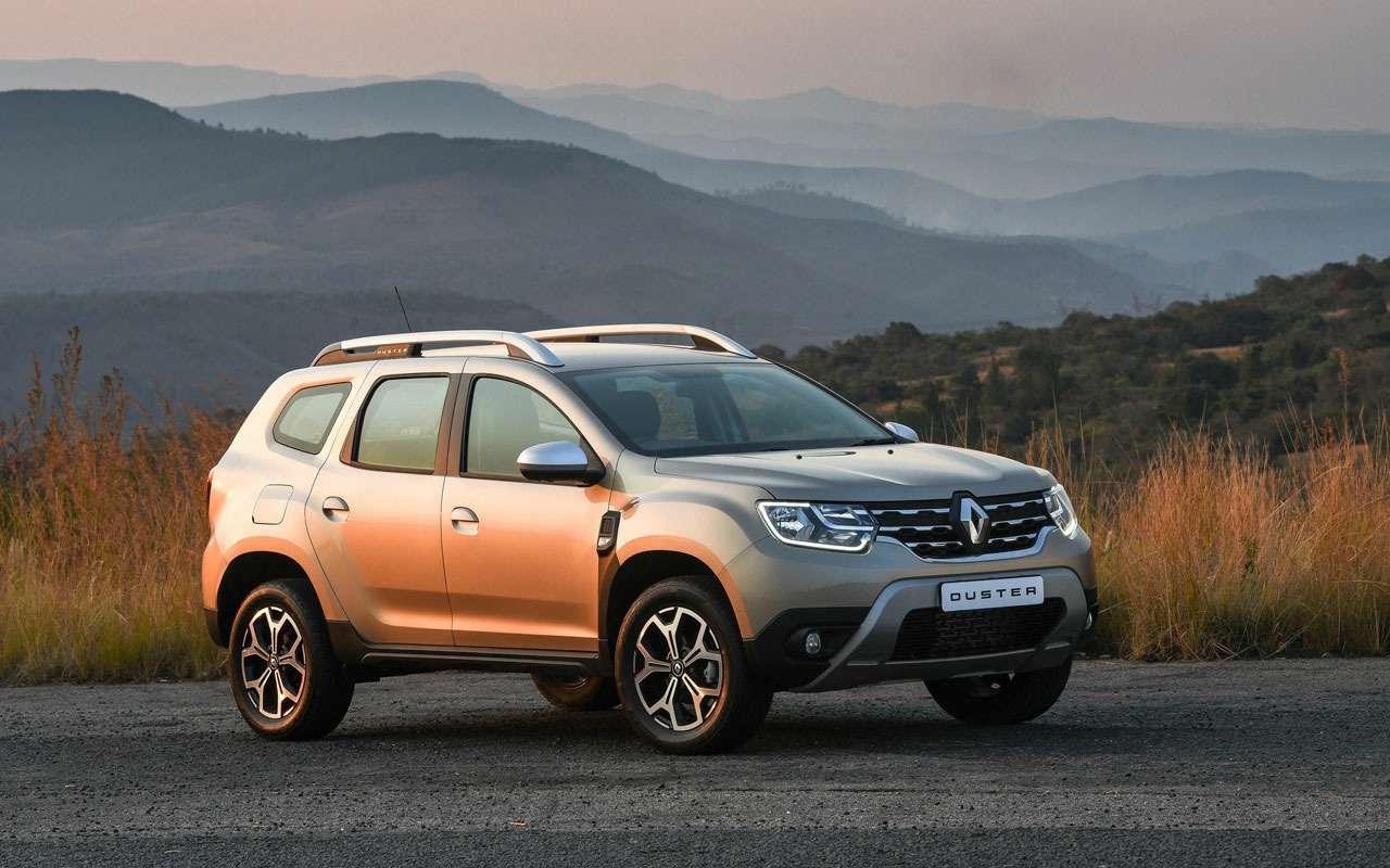Renault испытывает новый Duster— фото 977423